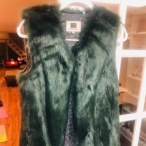 Beautiful flux fur vest